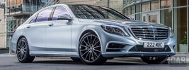Mercedes-Benz S500 Plug-in Hybrid AMG Sports Package UK-spec - 2014