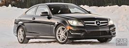 Mercedes-Benz C350 4MATIC Coupe US-spec - 2013