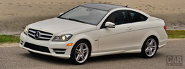 Mercedes-Benz C350 Coupe US-spec - 2012