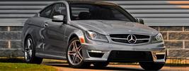 Mercedes-Benz C63 AMG Coupe US-spec - 2012
