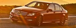 Mercedes-Benz C250 Sport Package Plus US-spec - 2013