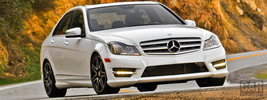 Mercedes-Benz C300 4MATIC Sport Package Plus US-spec - 2013