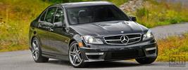 Mercedes-Benz C63 AMG US-spec - 2012