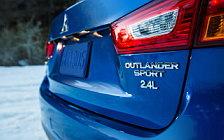 Обои автомобили Mitsubishi Outlander Sport US-spec - 2015