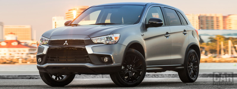 Обои автомобили Mitsubishi Outlander Sport Limited Edition US-spec - 2017 - Car wallpapers