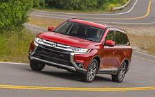 Обои автомобили Mitsubishi Outlander SEL US-spec - 2015
