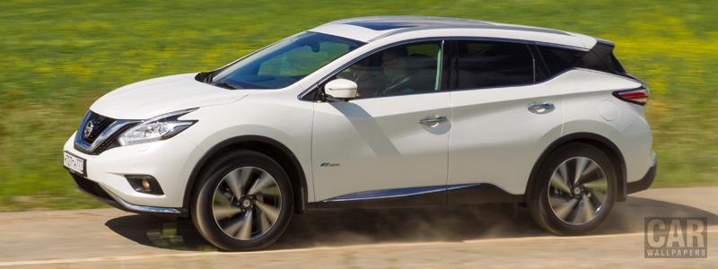 Обои автомобили Nissan-Murano-Hybrid-RU-spec-2016 - Car wallpapers