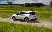 Обои автомобили Nissan-Murano-Hybrid-RU-spec-2016