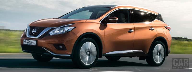 Обои автомобили Nissan-Murano-RU-spec-2016 - Car wallpapers