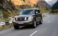 Обои автомобили Nissan-Patrol-RU-spec-2014