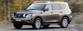 Nissan Patrol RU-spec - 2014