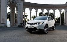 Обои автомобили Nissan-Qashqai-RU-spec-2015