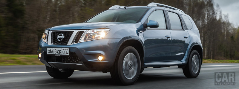 Обои автомобили Nissan-Terrano-RU-spec-2017 - Car wallpapers
