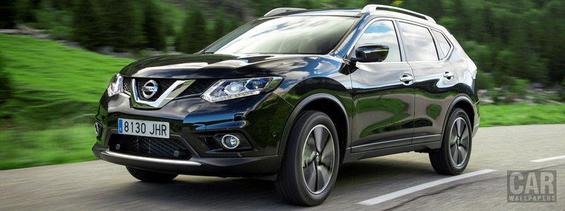 Обои автомобили Nissan X-Trail DIG-T 163 - 2015 - Car wallpapers