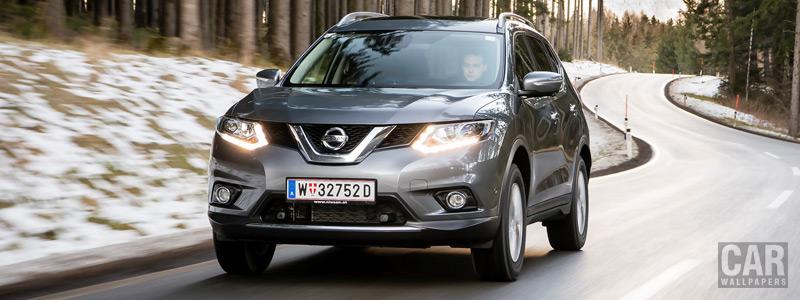 Обои автомобили Nissan X-Trail 1.6 dCi 4x4 - 2016 - Car wallpapers
