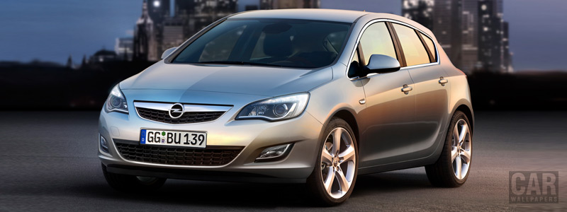 Cars wallpapers Opel Astra - 2009 - Car wallpapers