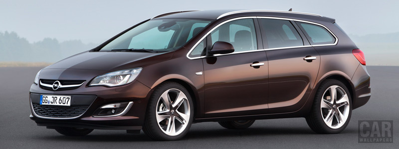 Cars wallpapers Opel Astra Caravan - 2012 - Car wallpapers