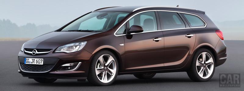Cars wallpapers Opel Astra Caravan - 2012 - Car wallpapers