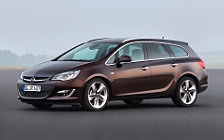 Cars wallpapers Opel Astra Caravan - 2012