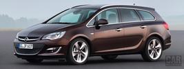 Opel Astra Caravan - 2012