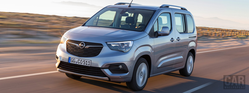 Обои автомобили Opel Combo Life - 2018 - Car wallpapers