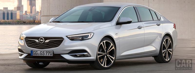 Обои автомобили Opel Insignia Grand Sport - 2017 - Car wallpapers