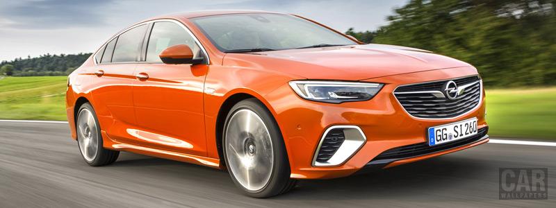 Обои автомобили Opel Insignia GSi - 2017 - Car wallpapers