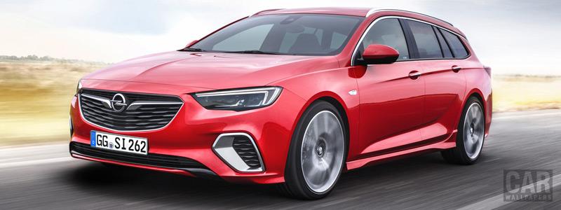 Обои автомобили Opel Insignia Sports Tourer GSi - 2017 - Car wallpapers