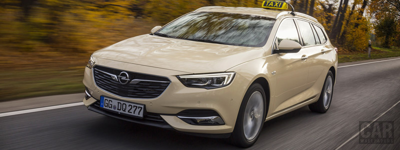Обои автомобили Opel Insignia Sports Tourer Taxi - 2017 - Car wallpapers