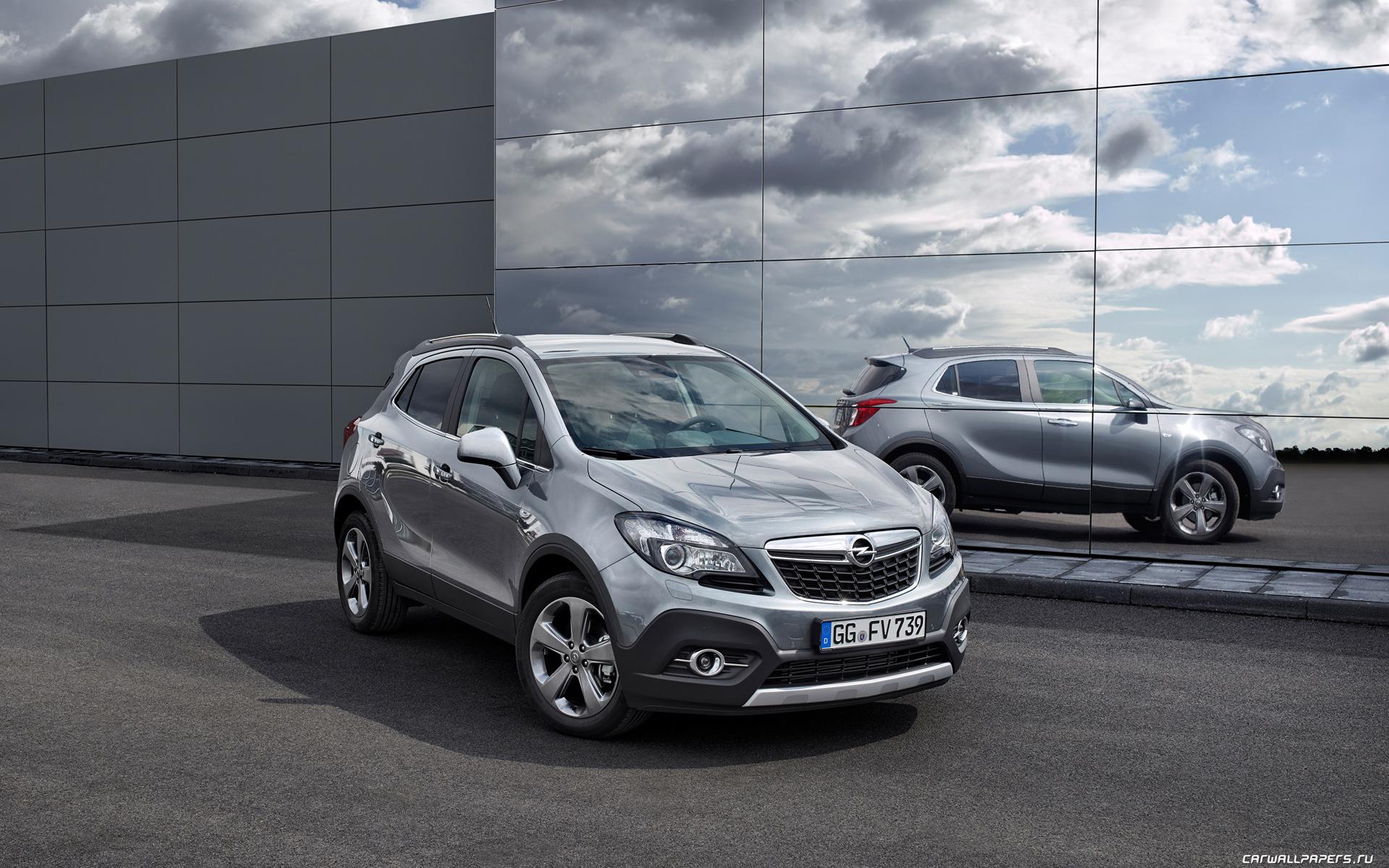 Cars Desktop Wallpapers Opel Mokka Ecoflex 2014