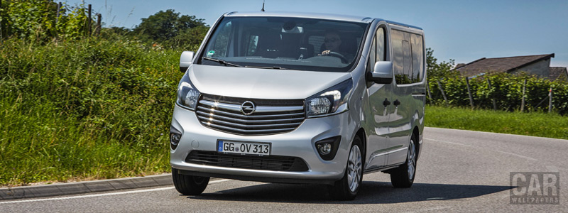 Обои автомобили Opel Vivaro Combi+ - 2017 - Car wallpapers