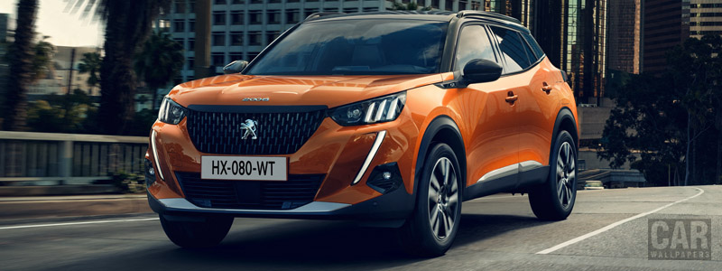 Обои автомобили Peugeot 2008 GT - 2019 - Car wallpapers