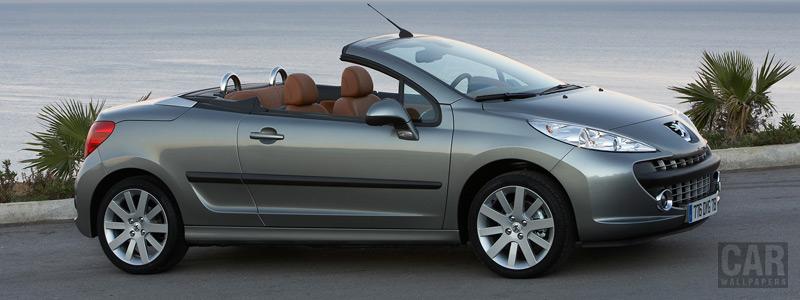 Обои автомобили - Peugeot 207 CC - Car wallpapers