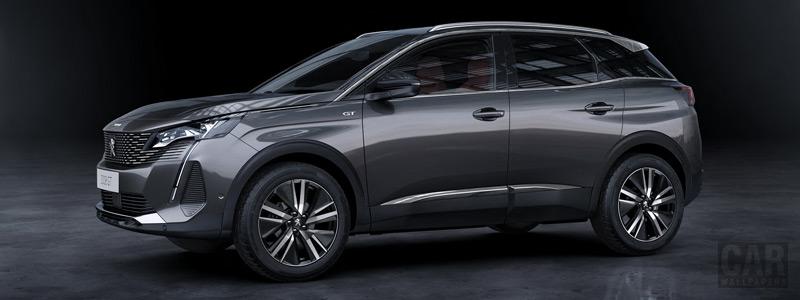 Обои автомобили Peugeot 3008 GT - 2020 - Car wallpapers