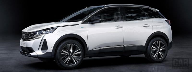 Обои автомобили Peugeot 3008 HYBRID4 - 2020 - Car wallpapers