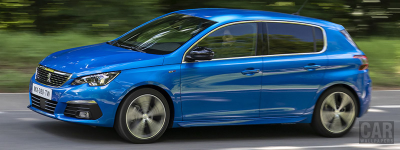 Обои автомобили Peugeot 308 GT - 2020 - Car wallpapers