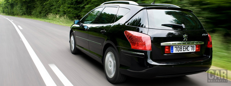 Cars wallpapers - Peugeot 407 SW - Car wallpapers