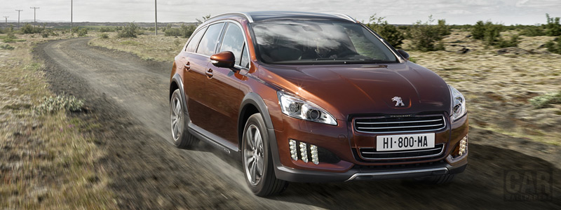 Cars wallpapers Peugeot 508 RXH Limited Edition - 2011 - Car wallpapers