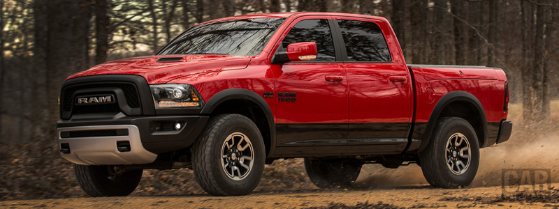 Обои автомобили Ram 1500 Rebel Crew Cab - 2015 - Car wallpapers
