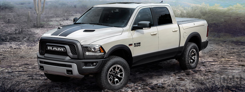 Обои автомобили Ram 1500 Rebel Mojave Sand Crew Cab - 2016 - Car wallpapers