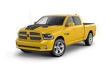 Обои автомобили Ram 1500 Stinger Yellow Sport Crew Cab - 2016