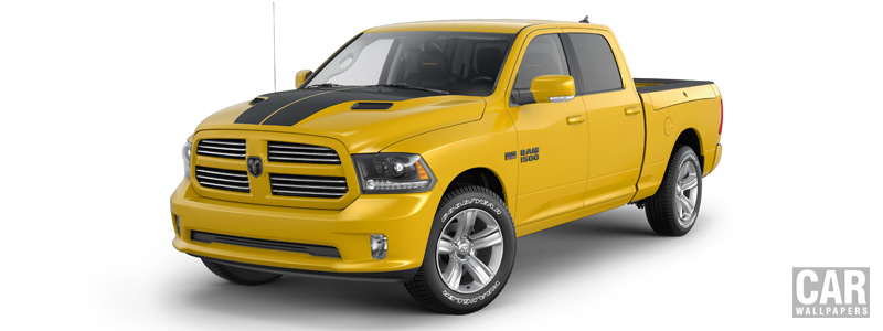 Обои автомобили Ram 1500 Stinger Yellow Sport Crew Cab - 2016 - Car wallpapers