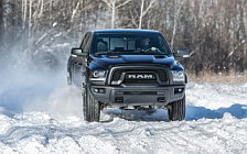 Обои автомобили Ram 1500 Rebel Black Crew Cab - 2017