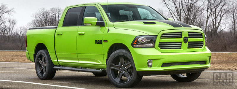 Обои автомобили Ram 1500 Sublime Sport Crew Cab - 2017 - Car wallpapers