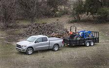 Обои автомобили Ram 1500 Big Horn Quad Cab - 2018