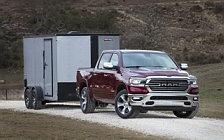 Обои автомобили Ram 1500 Laramie Crew Cab - 2018