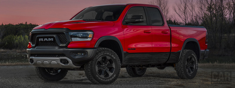 Обои автомобили Ram 1500 Rebel Quad Cab - 2018 - Car wallpapers