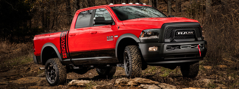 Обои автомобили Ram 2500 Power Wagon Crew Cab - 2016 - Car wallpapers