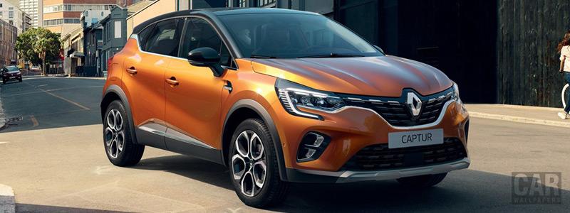 Обои автомобили Renault Captur - 2019 - Car wallpapers