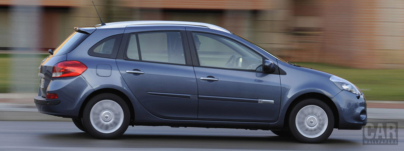 Cars wallpapers Renault Clio Estate - 2009 - Car wallpapers